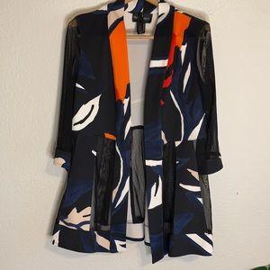 Frank Lyman Design Floral Blazer / Jacket  - 8